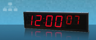 Power over Ethernet (PoE) NTP horloge