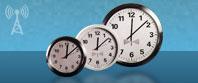 la radio analogique contrôlé ethernet horloge