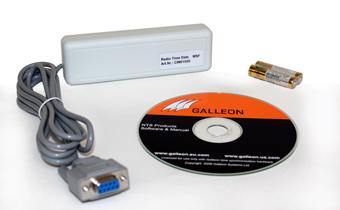 une image de ce qui est fourni avec le récepteur de temps AC-100-MSF